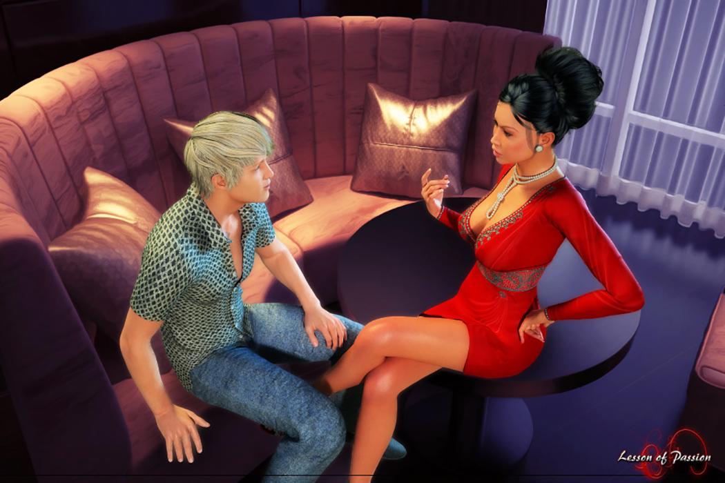 My sex date leena erotic flash game