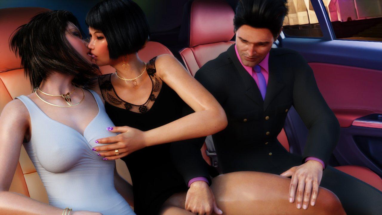 Interracial public sex at a party porn tube